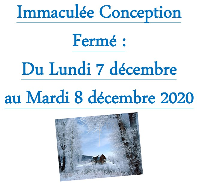 immacule conception2020